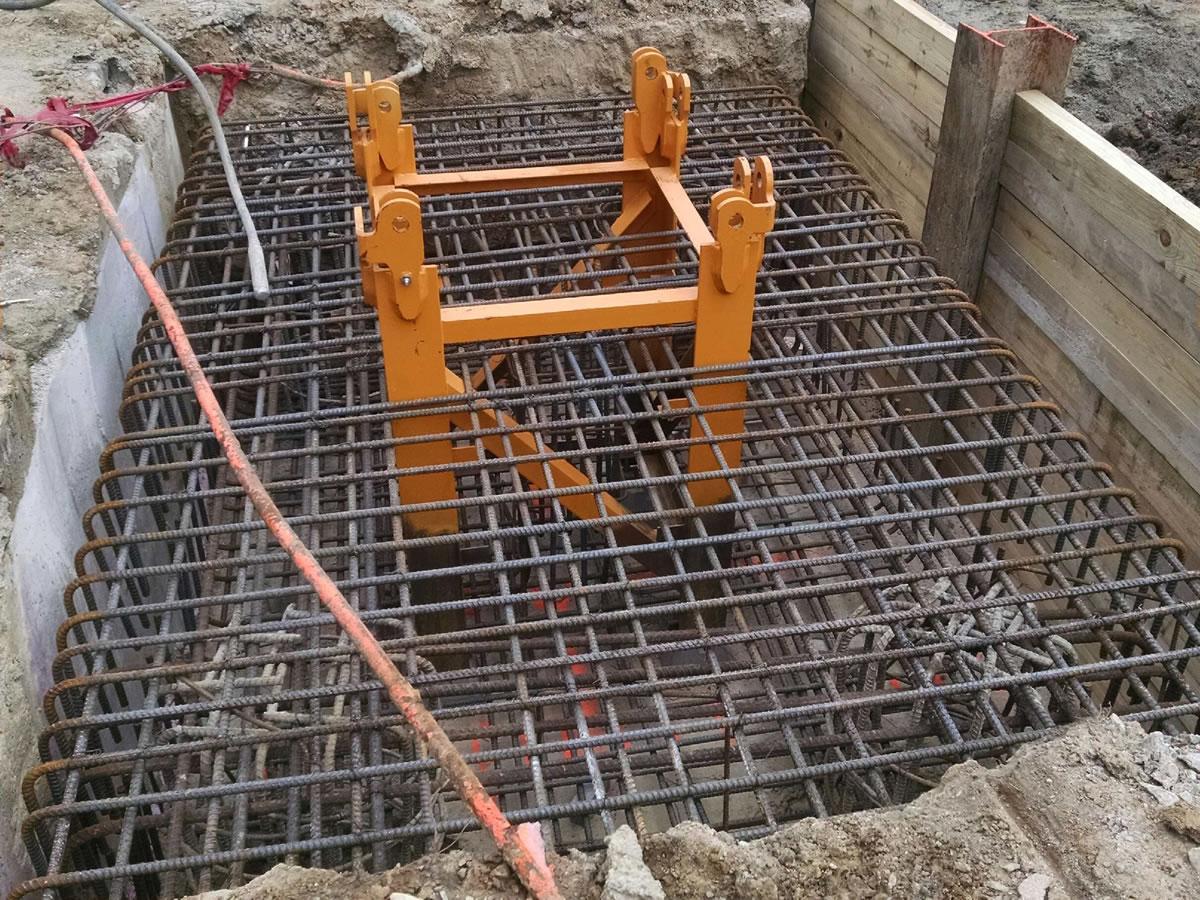 tower crane embed foundation