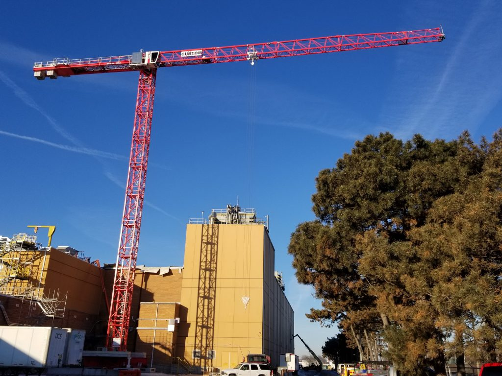 The Wolff 7536 is standing tall at the Kraft plant - ready to be put to work!